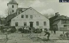 Deptak między ulicą Mostową a ulicą Sienną. W tle cerkiew prawosławna przy ul. Ruskiej.