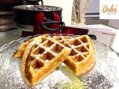 #waffle senza burro