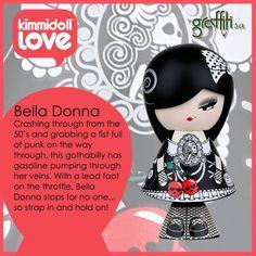 Kimmidoll love κούκλα Bella Donna από τη Graffiti! http://graffiti.gr/…/products_by_su…/28/3/-kimmidoll-love/36 #graffitisa #kimmidoll #love