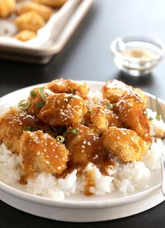 """Gluten Free Sesame Chicken 