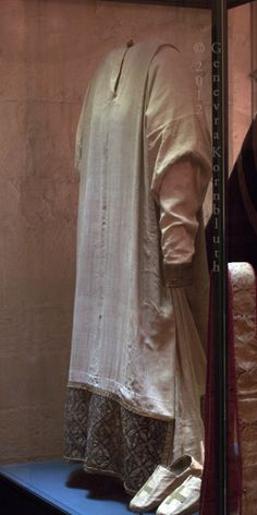Appareled Alb /   Vestments of St. Thomas à Becket, Treasury of Sens Cathedral (12th Century)