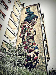 Street art in Łódź