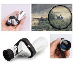 New Pocket Mini 8x20 HD Angolo Ottico Telescopio Monoculare Oculare per Outdoor design Moderno 2016