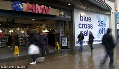 Long history: The nation¿s last specialist record and CD retailer - HMV - has gone into administration almost 100 years since it was first founded in 1921