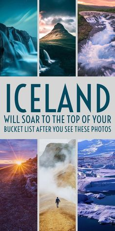 Dramatic landscapes, active volcanoes, towering glaciers, and opportunities to witness the Northern Lights. Here are 15 Instagram photos that will make you want to book a flight to Iceland now.