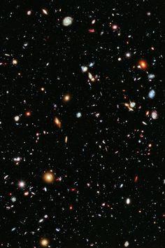 Très Blasé — infinity-imagined: The Hubble Extreme Deep Field ...