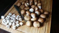 """Champignons mit Knoblauchsauce. Ihr kennt die Champignonpfanne vom Jahrmarkt, Rummel, Weihnachtsmarkt oder Kirmes. Das Champignon """"ala Jahrmarkt"""" Rezept + Video"""