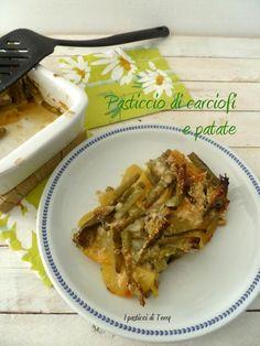 Oggi un buon Pasticcio di carciofi e patate http://www.ipasticciditerry.com/pasticcio-di-carciofi-e-patate/