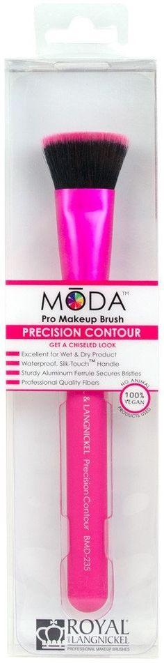 Royal and Langnickel Moda Precision Contour Pro Makeup Brush Powder Contour, Silk Touch, Makeup Brushes, Walmart, Beauty, Products, Beleza, At Walmart
