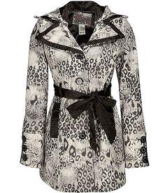 BKE Leopard Coat