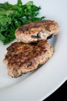 paleo lamb olive and red onion burgers