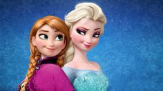 Elsa Frozen | File Name : Elsa and Anna on Frozen wallpaper