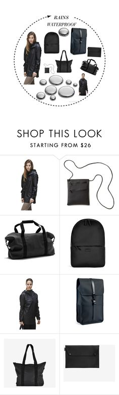 """""""SHOPLALUCE"""" by vitovka ❤ liked on Polyvore featuring Rains, raincoat, rains and shoplaluce"""
