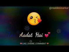 short sad quotes for whatsapp status Romantic Song Lyrics, Romantic Songs Video, Romantic Love Song, Romantic Gif, Romantic Status, Love Songs Hindi, Cute Love Songs, Song Hindi, Beautiful Songs
