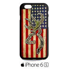 deer camo browning iPhone 6S  Case
