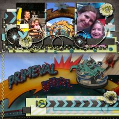 Primeval Whirl - MouseScrappers - Disney Scrapbooking Gallery