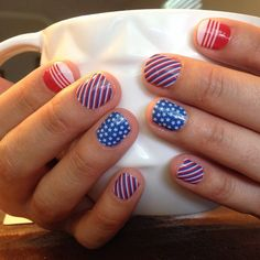 *TOP* 10 Most Popular Wraps of April 2015: Patriot!   Jamberry wraps | nail art | manicure | Spring Summer Catalog 2015