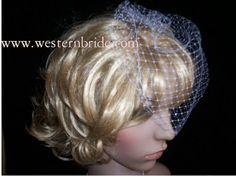 On side Bridal Ivory or white or diamond white you choose