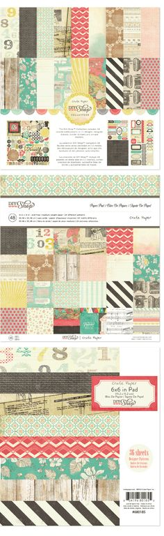 @Crate Paper DIY Shop collection kit