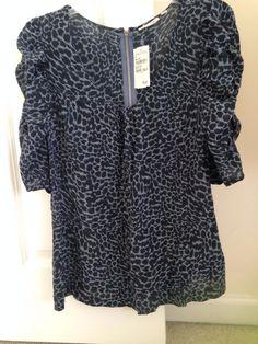 New Halogen Women Lightweight Casual 100%Silk Short Sleeve Suit/Top MSRP$78  | eBay