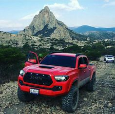 Tacoma Adventures – Megan Gonzales – Join the world of pin Toyota Tacoma Lifted, Toyota 4x4, Toyota Trucks, Toyota Cars, Toyota Tundra, Toyota 4runner, Toyota Lift, Lifted Ford, Suv Trucks
