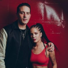 Halsey and G-Eazy at his album listening party in Chicago. II 11.26.17