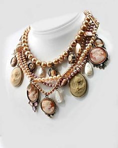 Extasia Necklace. This would be way too heavy! Would love a daintiest version of this!