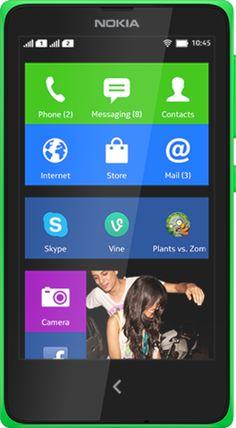 Harga HP Nokia X – Nokia telah meluncurkan smartphone android pertamanya yang diberi label Nokia X. Nokia X menawarkan serunya dalam mengakses aplikasi populer seperti Skype dan Plants vs. Zombies 2 dan lain sebagainya. Nokia X memiliki fitur seperti aplikasi musik Nokia MixRadio, yang mana kita dapat mendengar aneka lagu sesuai selera dan memilih mix musik musisi favorit.