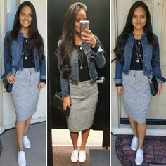 Denim Jacket- casual Friday outfit