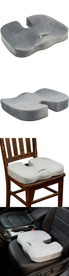 Massage Pillows and Bolsters: Aylio Coccyx Seat Cushion Back Support Tailbone Sciatica Pain Relief Washable BUY IT NOW ONLY: $37.61