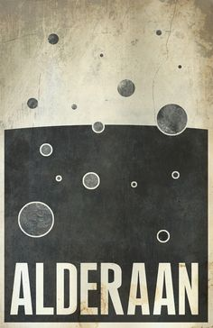 Travel poster for (the remains of?) Alderaan by Justin van Genderen . His entire series of Star Wars travel posters is on sale here . Star Wars Love, Star Wars Art, Tourism Poster, Travel Posters, Amour Star Wars, Star Wars Planets, Star Wars Poster, Illustration, Star Wars