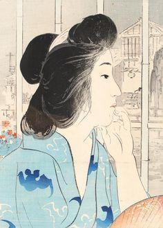 kiyokata kaburagi - Google Search Era Taisho, Art Asiatique, Art Japonais, Wildlife Paintings, Japanese Prints, Japanese Modern, Traditional Japanese, The Draw, Art Database