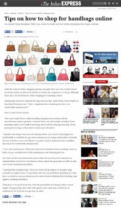 Online Coverage - The Indian Express