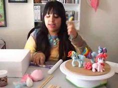 Cake Walk: My Little Pony Figures - YouTube
