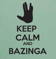 Keep calm! And call Sheldon!