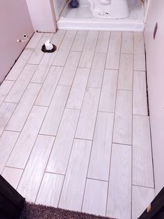 How to lay tile floo