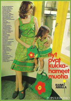 Pupuleipomo: Muoti + Kauneus 70-luvulta osa 2.