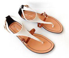 Buty GWIAZD Płaskie sandały Japonki Meliski 40