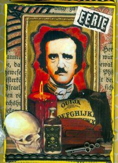 What's On Poe's Shelf? ATC