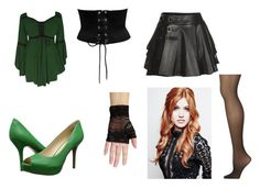 """Evil West Witch"" by ba-zinga ❤ liked on Polyvore featuring Nine West, Mairi Mcdonald and Calvin Klein"