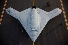 This is the new unman stealth X-47B.