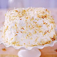 Cake Recipes with Pictures - Coconut Pecan Angel Food Cake… Angel Food Cupcakes, Angel Food Cake, Cupcake Cakes, Food Cakes, Angle Food Cake Recipes, Fruit Recipes, Dessert Recipes, Just Desserts, Delicious Desserts
