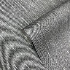 175014 Charcoal Plain Portofino Wallpaper