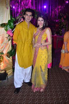 Yellow Stani Bridal Dresses Beautiful Mehendi Cute S