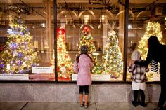 Charity Christmas Tree Contest, Historic Miller & Rhoads Department