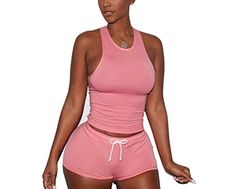 Special Offer: $15.99 amazon.com Basic Information: Memorose Womens Sexy Crewneck Sleeveless Short Bodycon Party Clubwear 2 Pieces JumpsuitSize Information (Inch) : Label S——Bust 33.50″, Waist 27.00″, Hips 34.50″, Length 28.00″ Label M—– Bust...