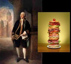 November 4 - celebrate the birthday of John Montague, the Earl of Sandwich who, legend has it, first put meat between 2 slices of bread. The Earl Of Sandwich, London Restaurants, Fraternity, Light Recipes, Cheddar, Sandwiches, Culture, Celebrities, Burgers