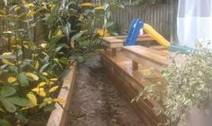 Garden Retainer, and Wideboard pine deck. Fence, Photo Galleries, Projects To Try, Gallery, Garden, Plants, Outdoor, Outdoors, Garten