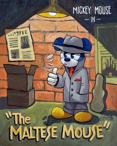 The Maltese Mouse - Holewinski