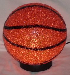 BasketBall Sparkle Lamp Molded Light Glow A slam dunk! Soft Plastic Sport Desk Lamp RINCO http://www.amazon.com/dp/B007E4FZBO/ref=cm_sw_r_pi_dp_Z2C8vb1V3TNED